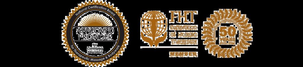 Internationally Accredited Massage Courses NCBTMB & FHT logo